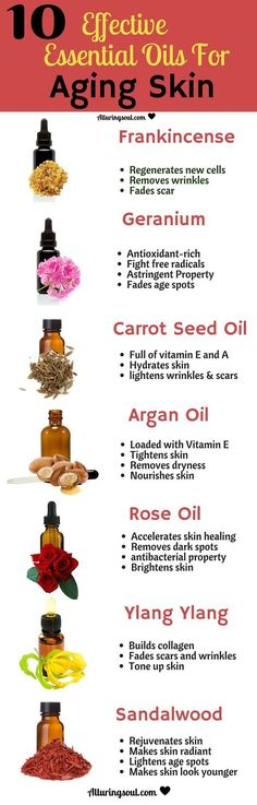 best essential oils for aging skin which help to lighten dark sots, scars, wrinkles and uneven tones. check out how it can help you. and skincare Essential Oils For Skin, Young Living Essential Oils, Essential Oil Blends, Geranium Essential Oil, Frankincense Essential Oil Uses, Carrot Seed Essential Oil, Lemongrass Essential Oil Uses, Helichrysum Essential Oil, Clary Sage Essential Oil