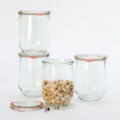 Weck Tulip Jar Set in House+Home KITCHEN+DINING Prep+Utility Storage at Terrain