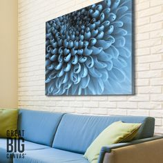 Enjoy Chrysanthemum blooms year-round with a canvas print featuring these stunning works of art. Available at GreatBIGCanvas.com