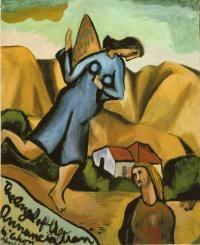 Colin McCahon - my favorite New Zealand artist 'Angel of the annunciation' 1947 New Zealand Art, Annunciation, Amazing Art, Painting, Art, Christian Art, Art History, Sacred Art, Nz Art