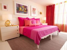 Looking for creative and styish pink bedroom design ideas 2020 UK for girls. Find the 83 Pretty Pink Bedroom Designs for Teenage Girls 2020 UK for Inspiration. Pink Master Bedroom, Pink Bedroom For Girls, Pink Bedrooms, Woman Bedroom, Master Bedroom Design, Bedroom Colors, Bedroom Decor, Bedroom Designs, Bedroom Linens
