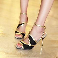 Women's Shoes Stiletto Heel Open Toe Sandals Shoes More Colors available 2015 – $39.99
