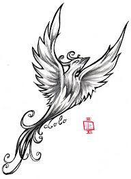 Картинки по запросу phoenix in black and white