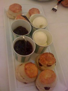 Claridges - Afternoon tea scones