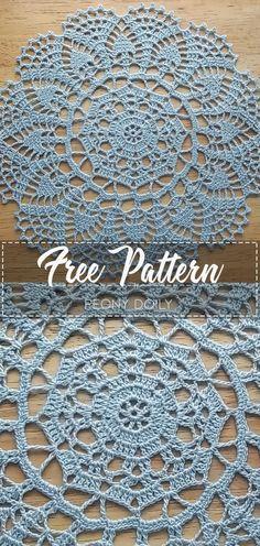 Jubii Webmail :: 🧶 Chrochet, Crochet doily patterns og flere idéer i dem Crochet Doily Rug, Crochet Tablecloth Pattern, Crochet Dollies, Crochet Circles, Crochet Gifts, Easy Crochet, Crochet Thread Patterns, Free Crochet Doily Patterns, Lace Patterns