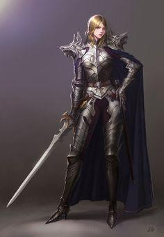 Wolf Knight by cenotaph kveldulv | Fantasy | 2D | CGSociety