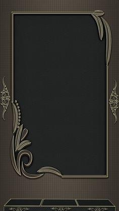 Wedding Code Wallpaper, Phone Screen Wallpaper, Black Wallpaper, Pattern Wallpaper, Wallpaper Backgrounds, Iphone Wallpaper, Metal Background, Textured Background, Picture Borders