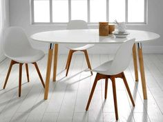 Piezas para decorar una casa actual Dining Chairs, Dining Table, Wooden Tables, Dremel, Home Goods, Sweet Home, Furniture, Home Decor, Buffy