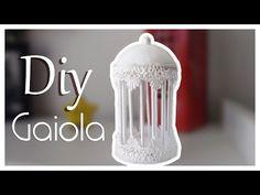Como fazer uma Gaiola de decoração - YouTube