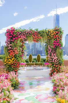 Stage Decorations, Indian Wedding Decorations, Flower Decorations, Indian Weddings, Peach Weddings, Small Weddings, Romantic Weddings, Wedding Mandap, Wedding Stage