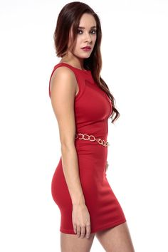 Red Body Dress