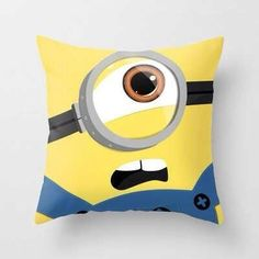 MINION pillow I need that maybe I do dream about minions hehe lol :P