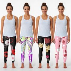 Leggings A Valentine's Day Gift for her that she will love. High quality, fun , leggings she can wear year around that will remind her of you every time.