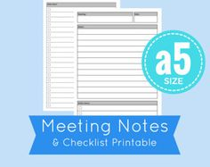 Printable Planner Pages to Organize your Life by CommandCenter