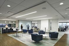 Comcast - office, work, conference, meeting, pantry, kitchen, cafe, gather | By: Environetics Design