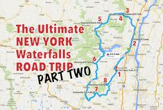 Got 4 hours of driving time to spare? It's time to check out the ultimate New York waterfalls road trip!!