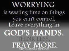 God is in control.  AMEN!!!!! ... I Love YOU LORD GOD With Everything I Have And All That I Am!!!!!!!!!!!! <3 <3 <3 <3 <3 <3 <3 <3 <3 <3 <3 <3 :-D :-)