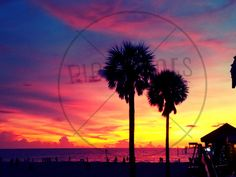 Hey, I found this really awesome Etsy listing at https://www.etsy.com/listing/215861923/beach-sunset-poster-print-clearwater