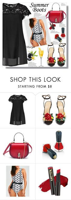 """Rosegal  42"" by ramiza-rotic ❤ liked on Polyvore featuring Charlotte Olympia, Oribe and L.A. Girl"