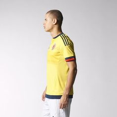 4d274d0499e adidas - Camiseta local Colombia 2016