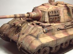 Zoom avant (dimensions réelles: 1000 x Tiger Ii, Military Vehicles, King, Gun Turret, Colors, Army Vehicles