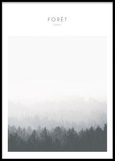 Foret, poster i gruppen Posters och prints / Storlekar / 50x70cm hos Desenio AB (7821)