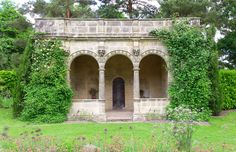 Folly in the Gardens of Nymans National Trust, West Sussex National Trust, Days Out, Arch, Gardens, Outdoor Structures, Longbow, Outdoor Gardens, Wedding Arches, Bow