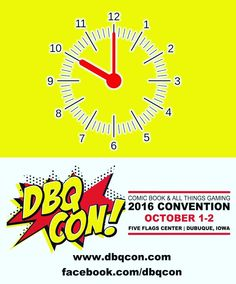 Tickets go on sale TODAY at 10:00AM for the 2nd annual #DBQCon at the #FiveFlagsCenter in #Dubuque #Iowa! #Cosplay #Comics