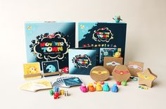 Monster Town Board Game by Ya-Chin Kate Chuang, via Behance