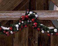 Pretty Christmas ball ornament garland❣