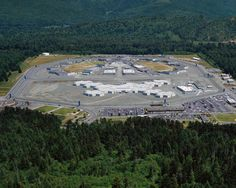 Aerial view of Pelican Bay State Prison (PBSP).  Click to download a copy