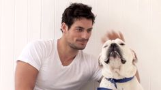 David Gandy Gif, So cute!~  Just click on it to view the gif.