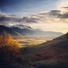 View from Bodenburg Butte in Palmer, Alaska