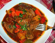 Cooking with love ! : Tocanita de vita cu legume gatita la slow-cooker ( Slow-Cooker Beef & Vegetable Stew )