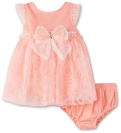 Amazon.com: Children's Apparel Network Baby-girls Newborn 2 Piece comfort Knit Dress And Panty: Clothing