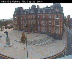 Hanley Town Hall, Staffordshire, England
