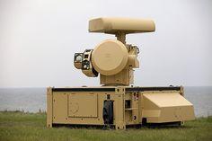 Mit einer solchen Sensoreinheit können drei Geschütztürme gesteuert werden