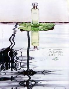 Publicité du parfum Un jardin sur le Nil de Hermes
