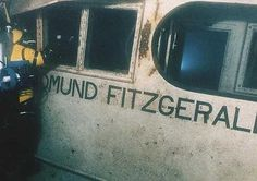 the wreckage of the Edmund Fitzgerald