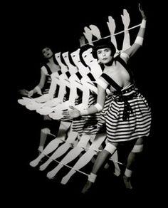 Short experimental dance film Tingel Tangel by Kathryn Ferguson combines two dan. Short experimental dance film Tingel Tangel by Kathryn Ferguson combines two dancers and a wooden dance machine built to parody the Busby Berkeley sty. Cabaret, Busby Berkeley, Paloma Faith, Theatre Costumes, Modern Dance, Poses, Shows, Portrait, Bauhaus