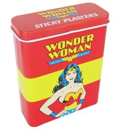 Wonder Woman plasters/bandaids