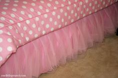 how to make a tutu bedskirt