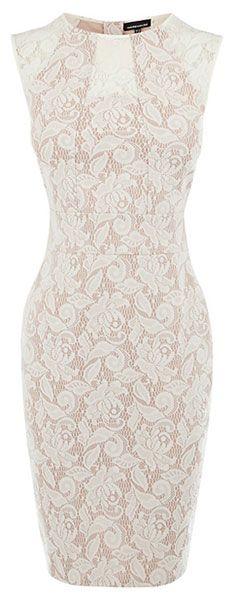 lace pencil dress. So cute
