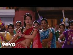Gun Gun Guna from Agneepath by Hrithik Roshan and Priyanka Chopra. Bollywood Music Videos, Hindi Bollywood Movies, Priyanka Chopra, Sunidhi Chauhan, Udit Narayan, Dance Music Videos, Birthday Songs, Star Wars, Aamir Khan