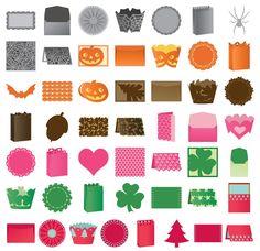 Cricut Anna Griffin Cartridge Bundle - Seasonal & Kitsch