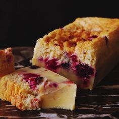 How to make Three Berry Magic Cake.