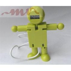 Robot antistres cu ceas si patru porturi pentru usb Usb, Multifunctional, Toilet Paper