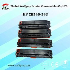Compatible for HP CB540-543A toner cartridge,your good assistant,your good partner!!