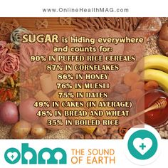 Sugar is hiding everywhere #sugar  www.onlinehealthmag.com
