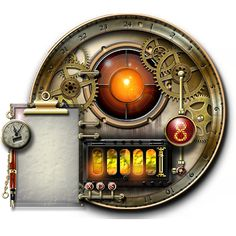 the Steampunk vault. Works on all recent versions of Windows and Mac OS/X. It is a Yahoo/Konfabulator widget.